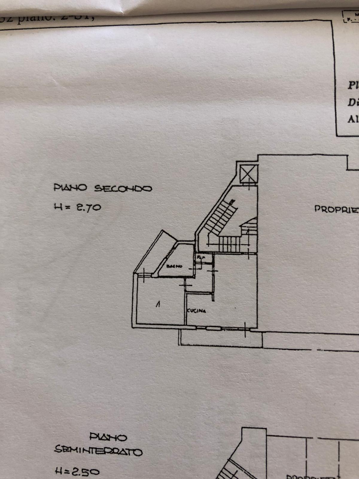 Planimetria 1/1 per rif. L107