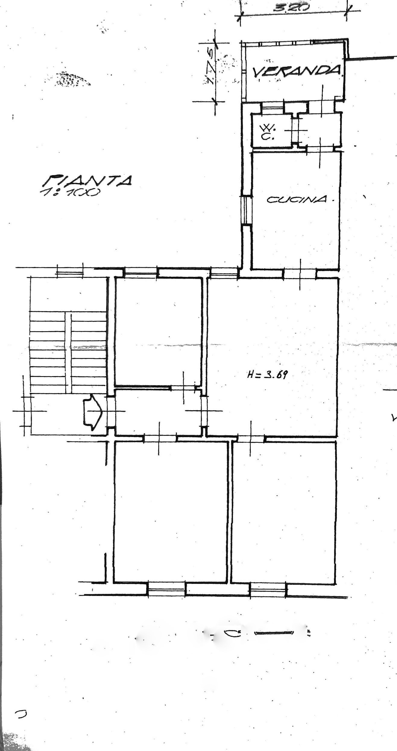 Planimetria 1/1 per rif. L112