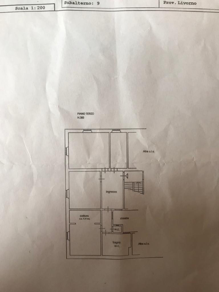 Planimetria 1/1 per rif. L133