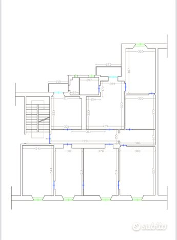 Planimetria 1/1 per rif. L137
