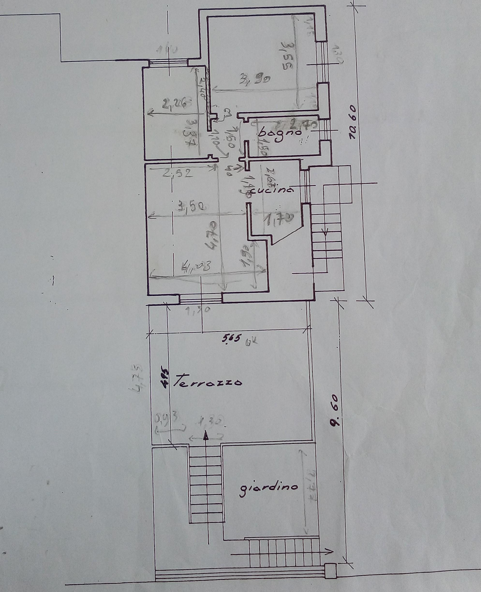 Planimetria 1/1 per rif. SA03