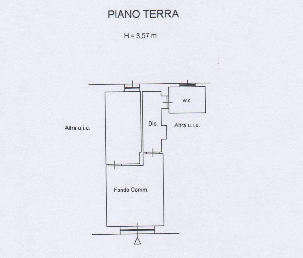 Planimetria 1/1 per rif. A1659