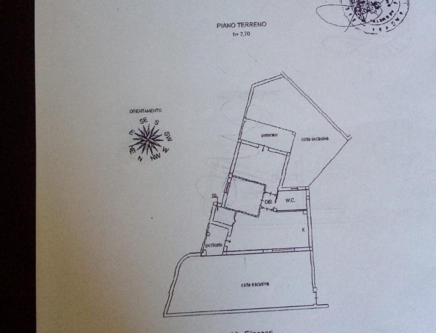 Planimetria 1/1 per rif. SA08