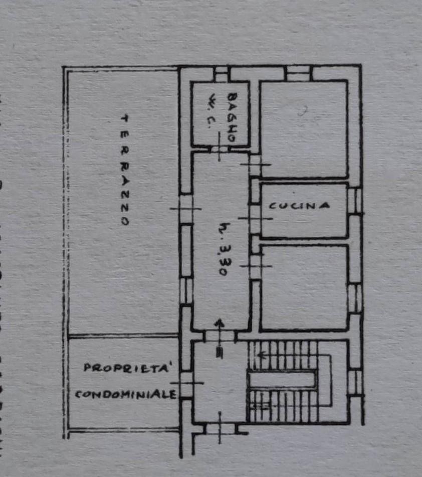 Planimetria 1/1 per rif. M53