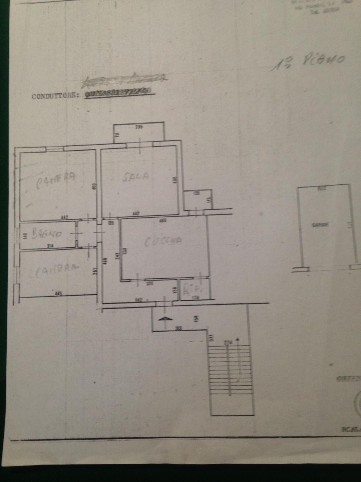 Planimetria /1 per rif. 985