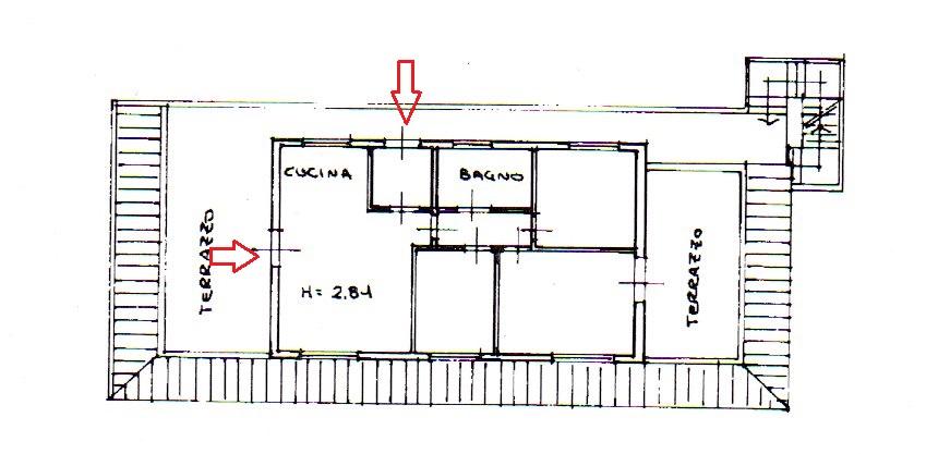 Planimetria 1/1 per rif. 2089