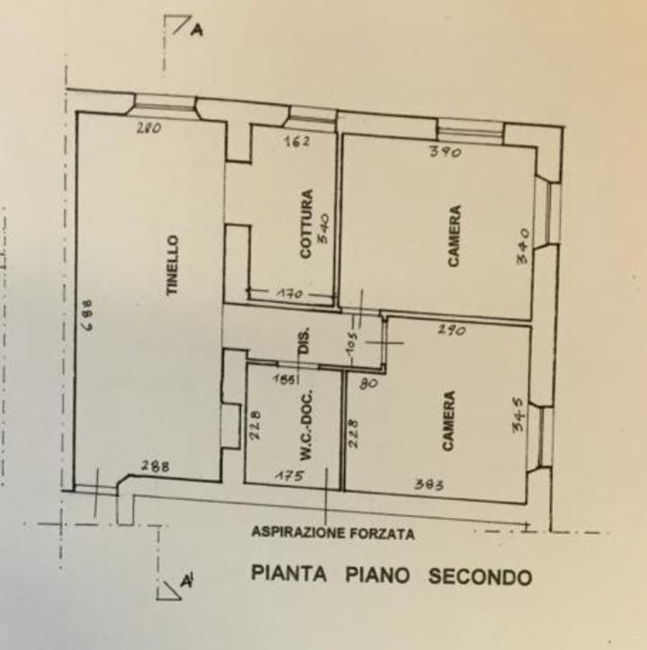 Planimetria 1/1 per rif. 2140
