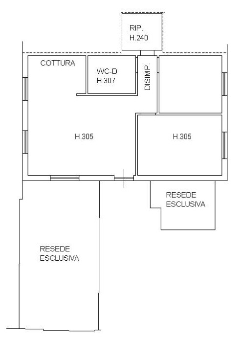 Planimetria 1/1 per rif. 2149