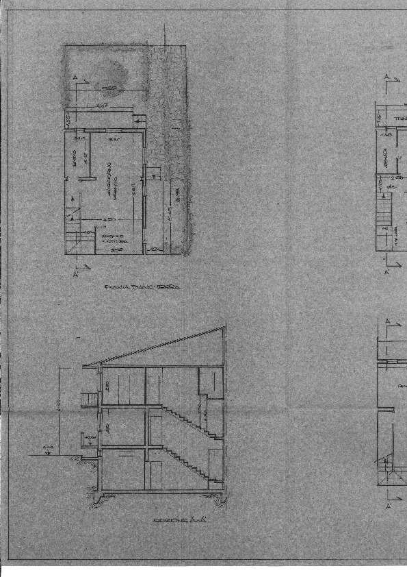 Planimetria 1/1 per rif. 2164