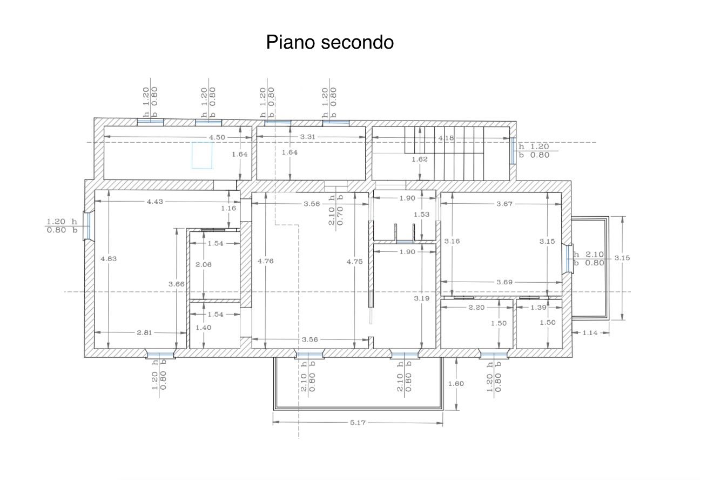 Planimetria 1/1 per rif. 2169