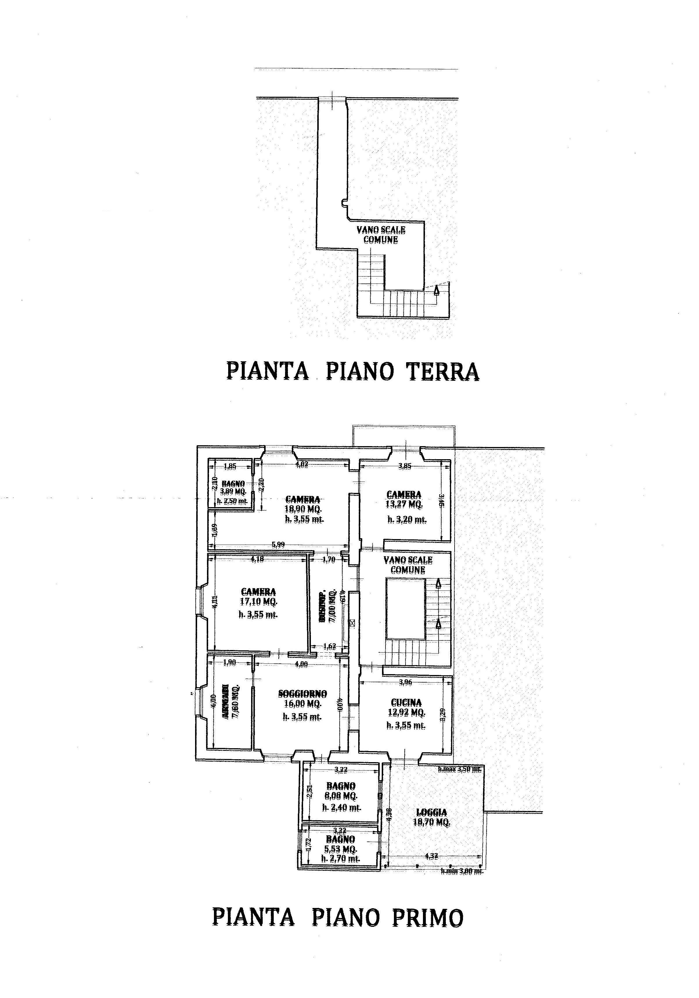 Planimetria 1/1 per rif. 2207