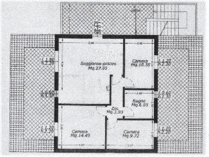 Planimetria 3/3 per rif. 3573