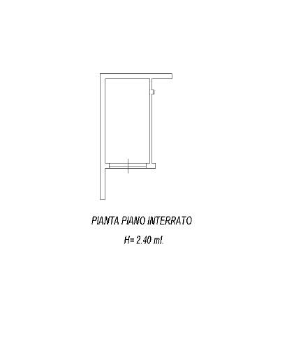 Planimetria 2/2 per rif. 3487