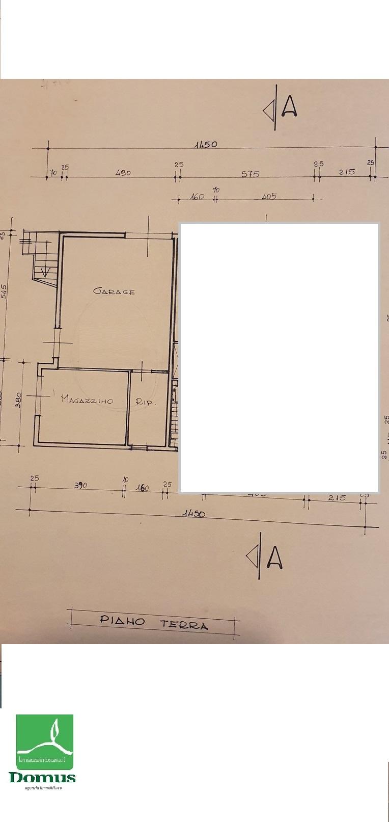 Planimetria 2/2 per rif. 3534