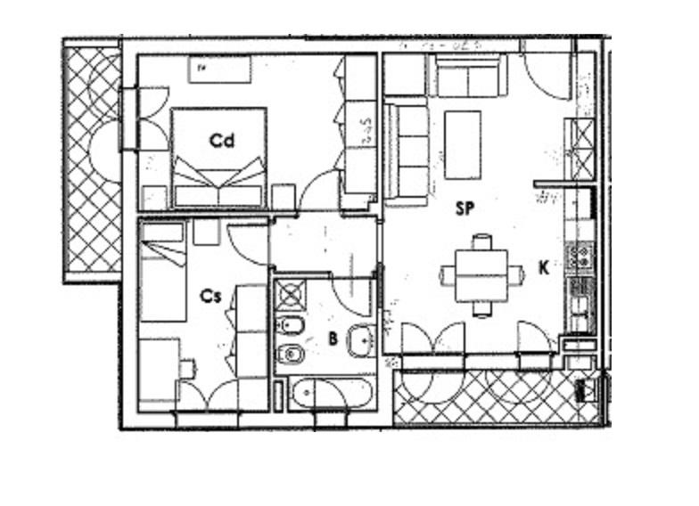 Planimetria 1/1 per rif. 3550