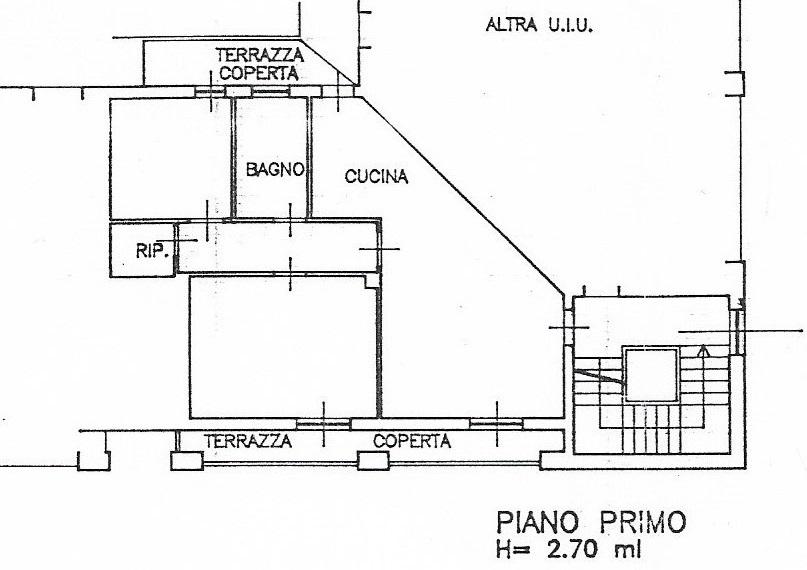 Planimetria 1/2 per rif. 3551