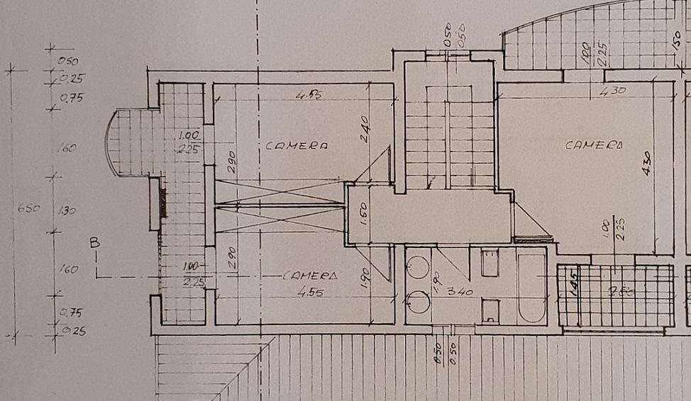 Planimetria 2/3 per rif. 3552