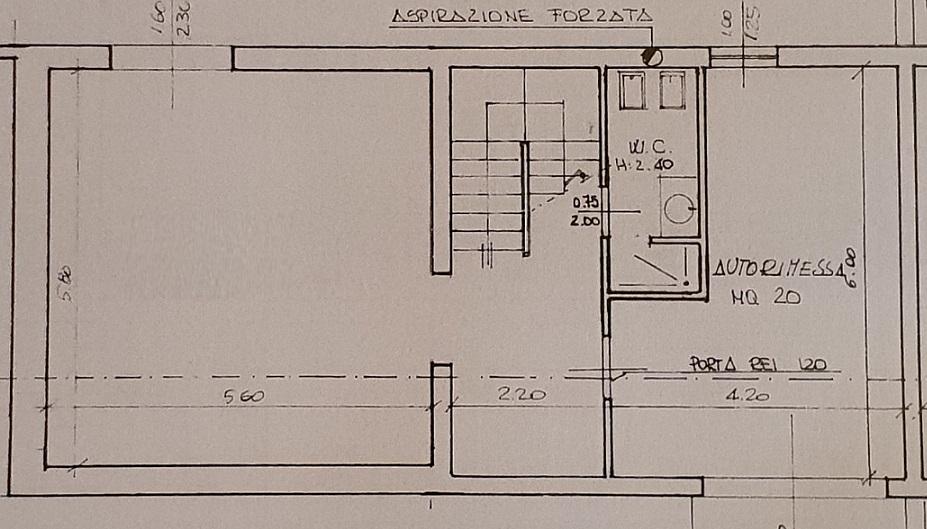 Planimetria 3/3 per rif. 3552