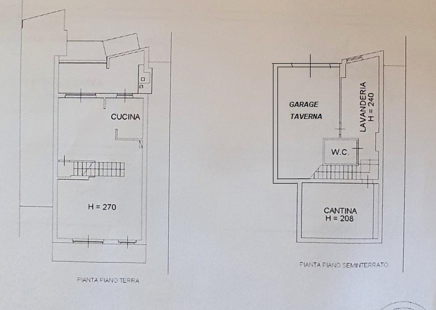 Planimetria 1/2 per rif. 3553