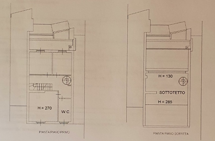 Planimetria 2/2 per rif. 3553