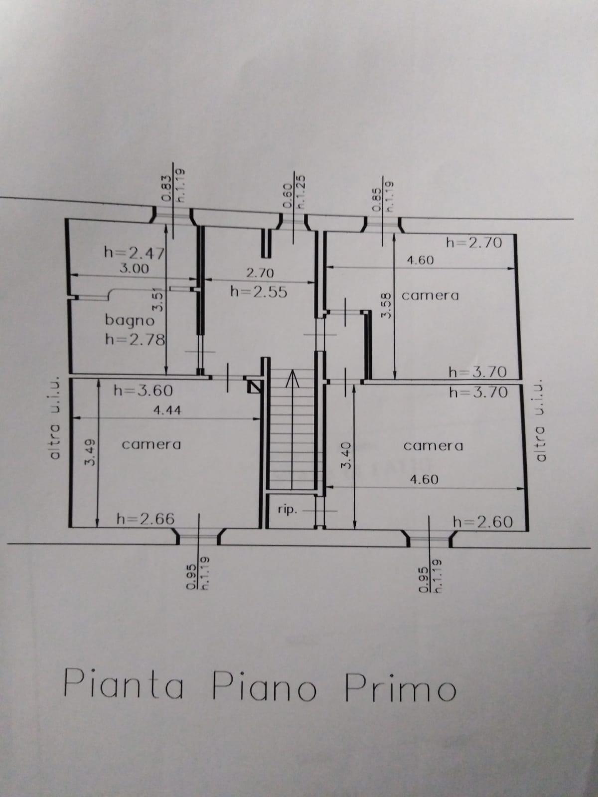 Planimetria 2/2 per rif. 3554