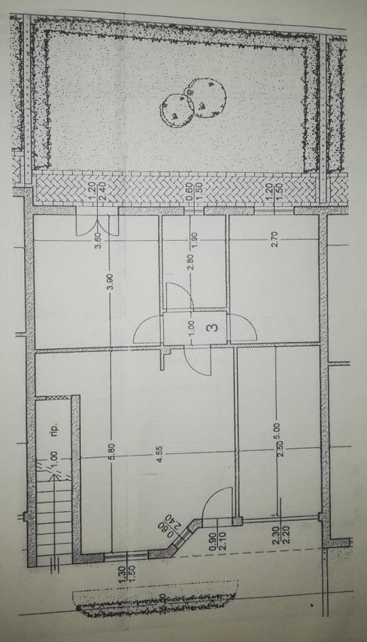 Planimetria 1/1 per rif. TM3555