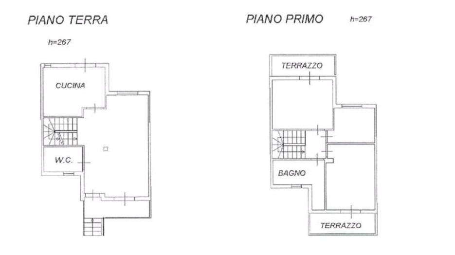 Planimetria 1/2 per rif. TM3557