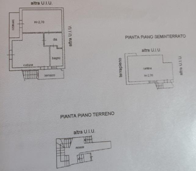 Planimetria 1/1 per rif. 3563