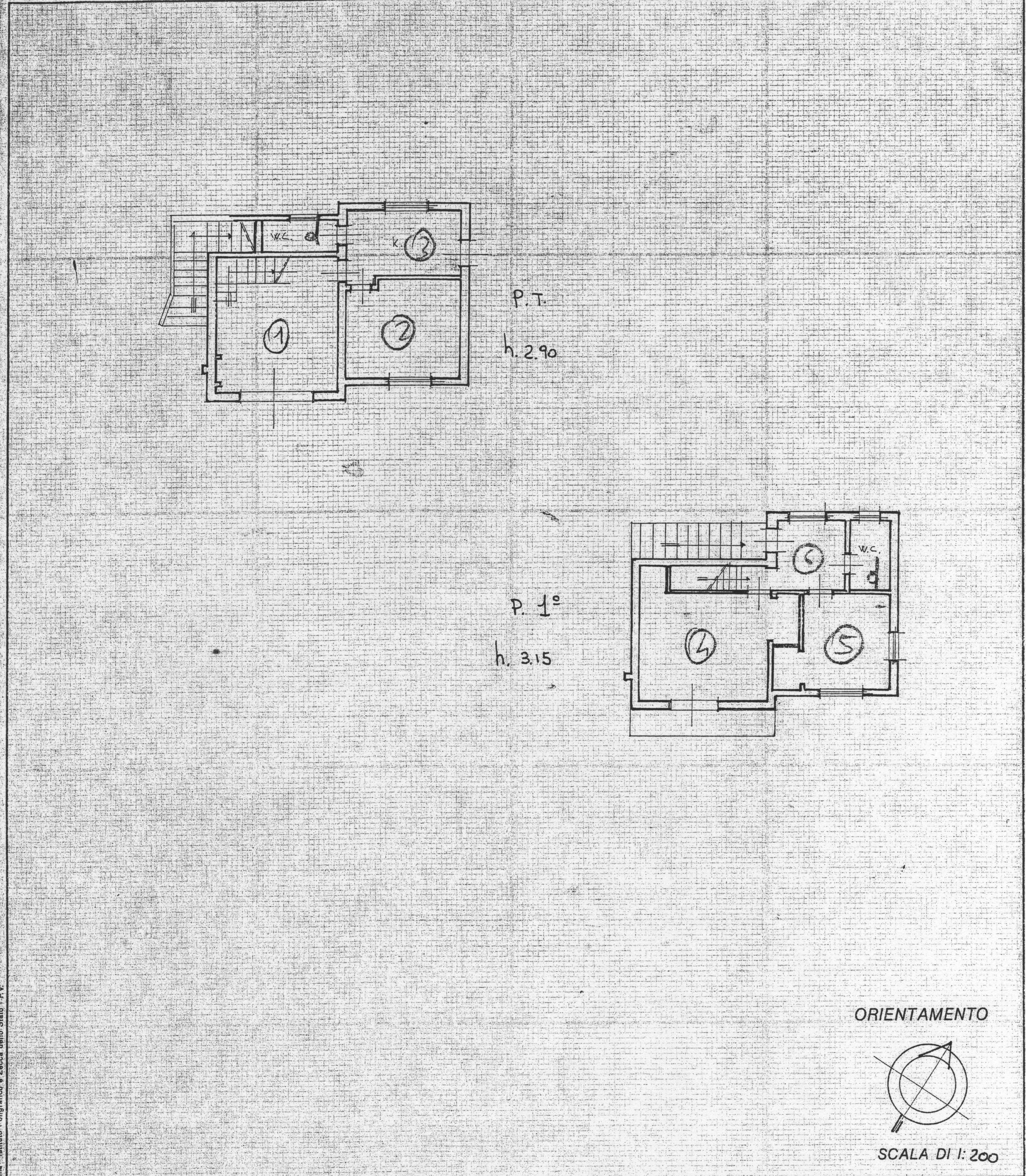 Planimetria 1/1 per rif. RE469