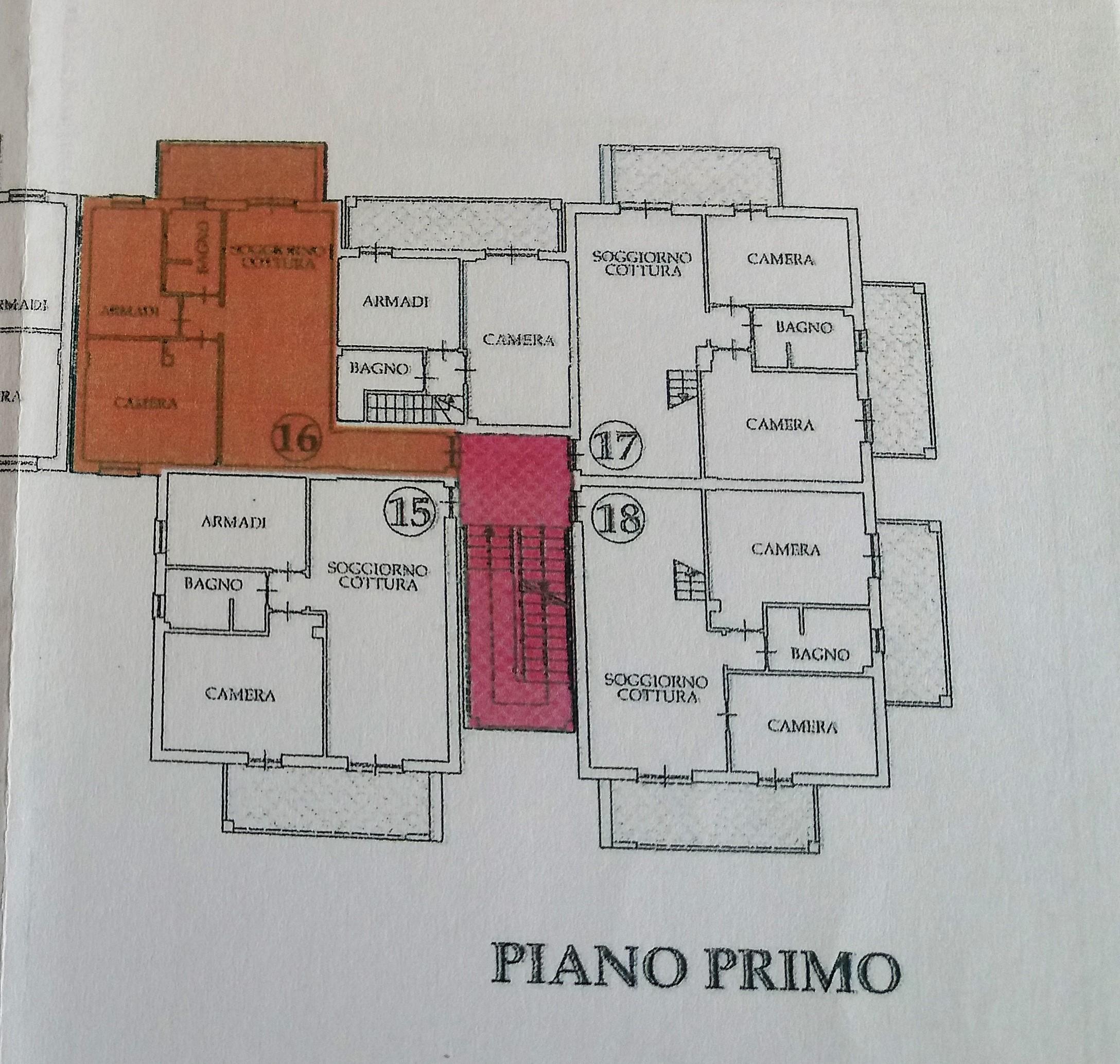 Planimetria 1/1 per rif. LOG-271