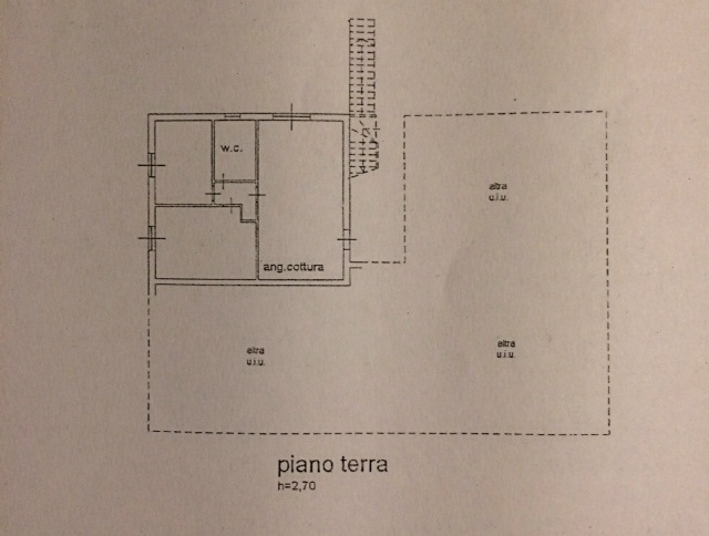 Planimetria 1/1 per rif. 534