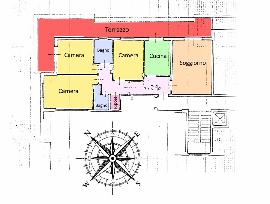 Planimetria /1 per rif. 587