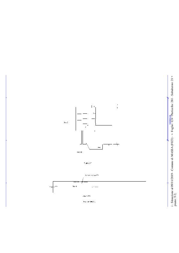 Planimetria 1/1 per rif. dl5