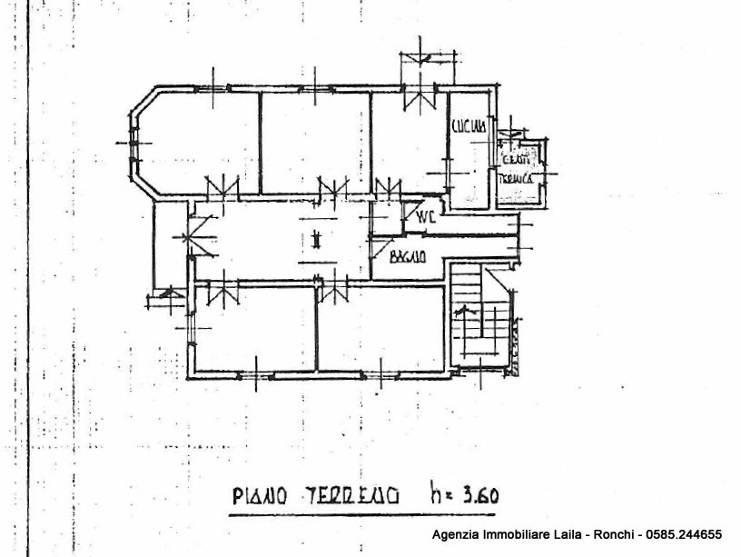 Planimetria 1/2 per rif. 15.49