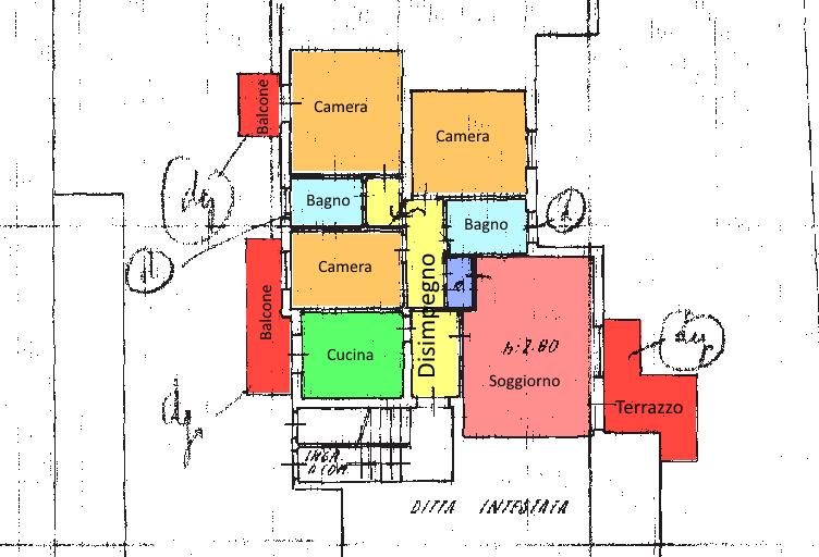 Planimetria 1/1 per rif. 16.10