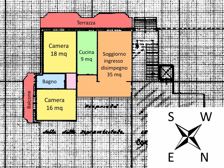 Planimetria 1/1 per rif. 17.28