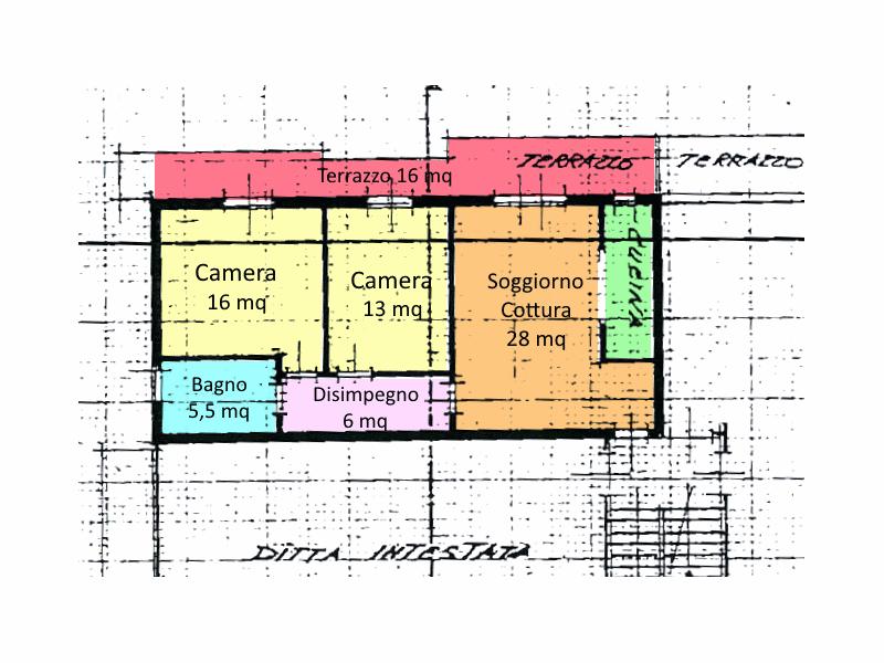 Planimetria 1/1 per rif. 15.35