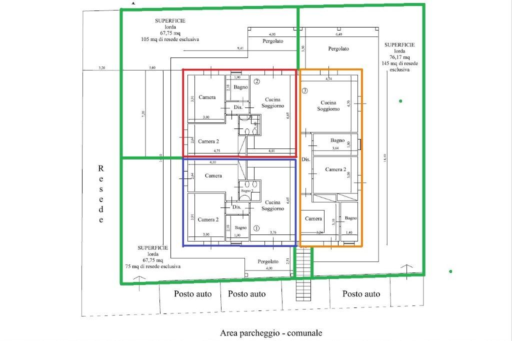 Planimetria 3/3 per rif. 17.42