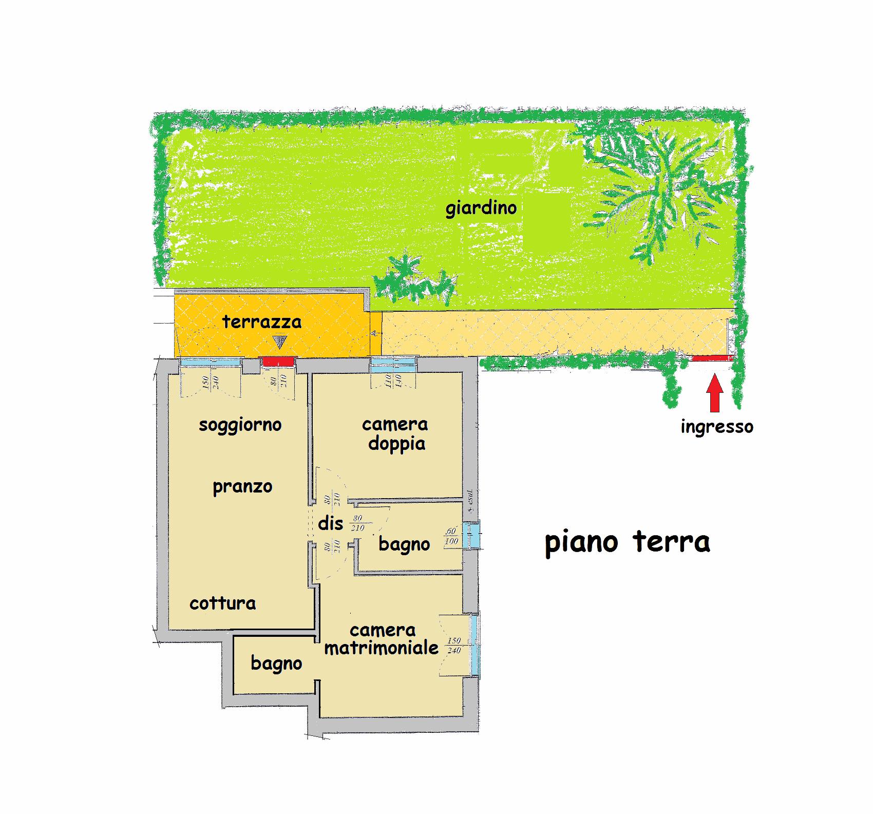 Planimetria 1/1 per rif. 13.30