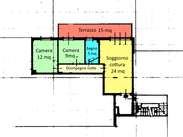 Planimetria 1/1 per rif. 16.73