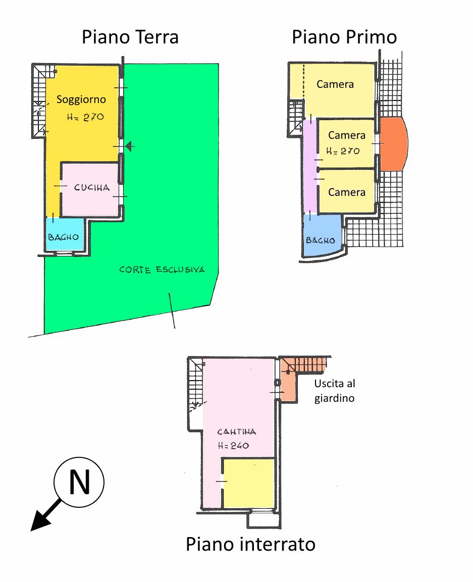 Planimetria 1/1 per rif. VR112
