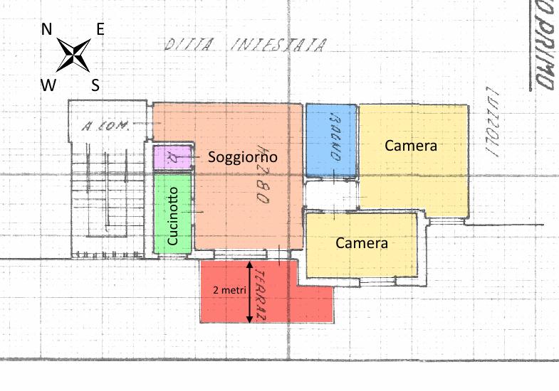 Planimetria 1/1 per rif. 18.18