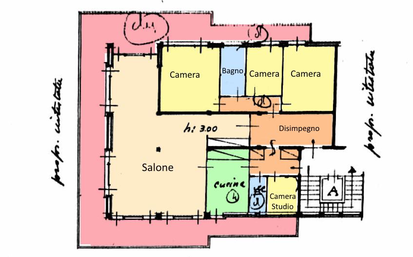 Planimetria 1/1 per rif. 18.20