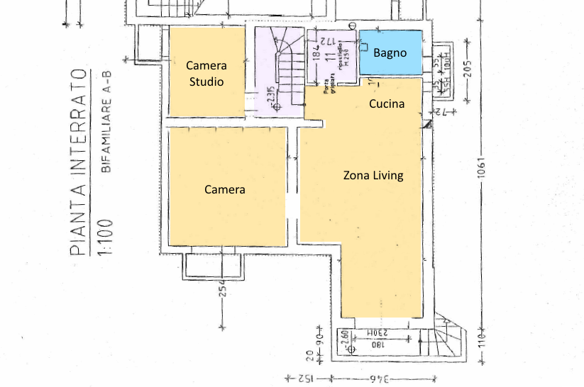 Planimetria 3/3 per rif. 12.07