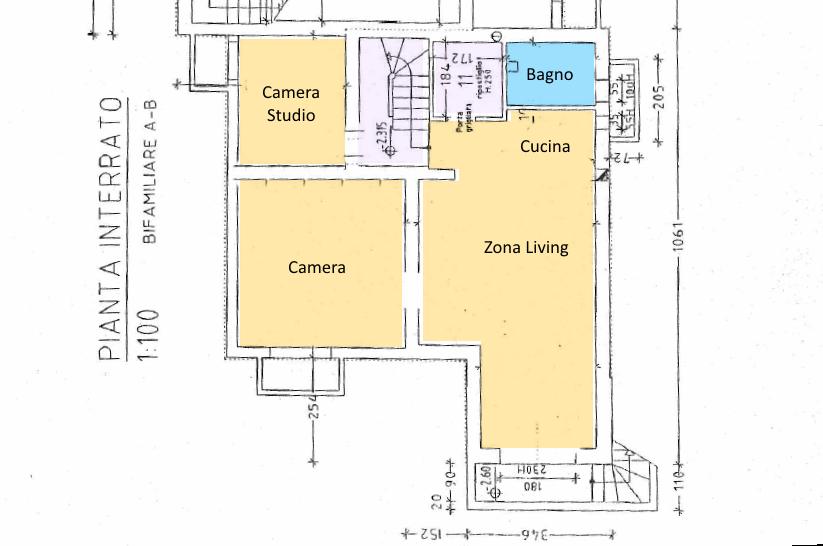 Planimetria 3/3 per rif. SE12