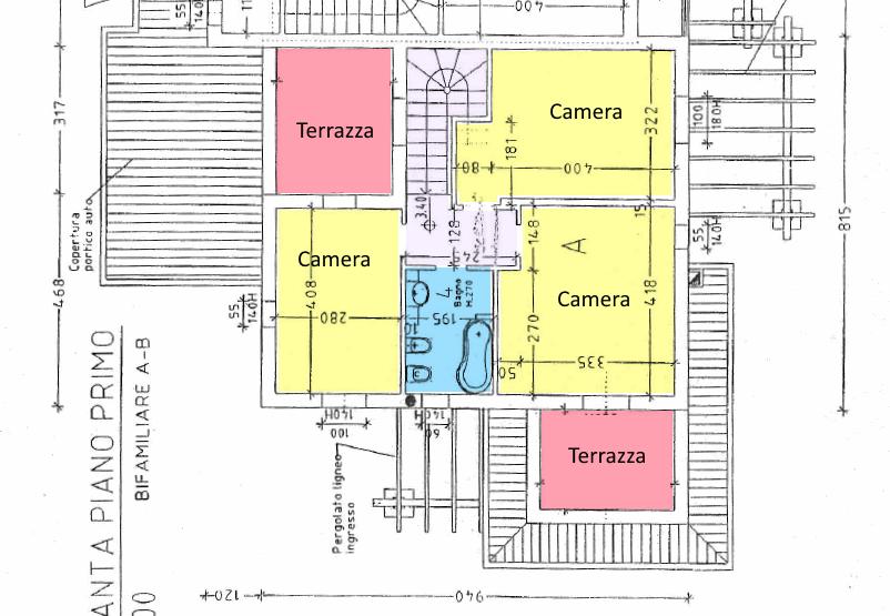 Planimetria 2/3 per rif. SE12