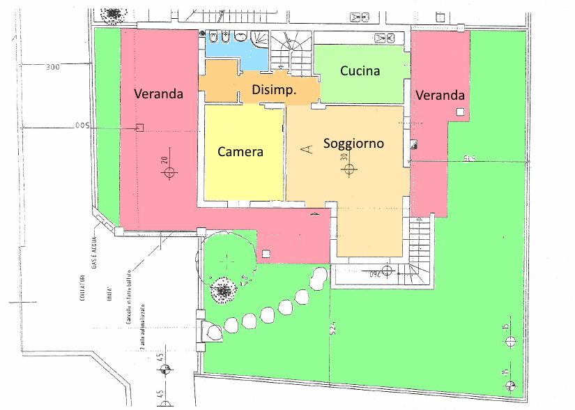 Planimetria 1/3 per rif. SE12