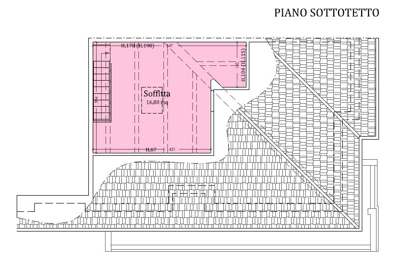 Planimetria 2/2 per rif. LOG-314