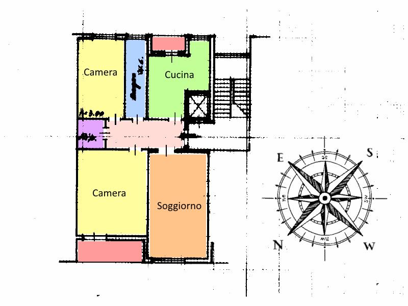 Planimetria 1/1 per rif. 19.03