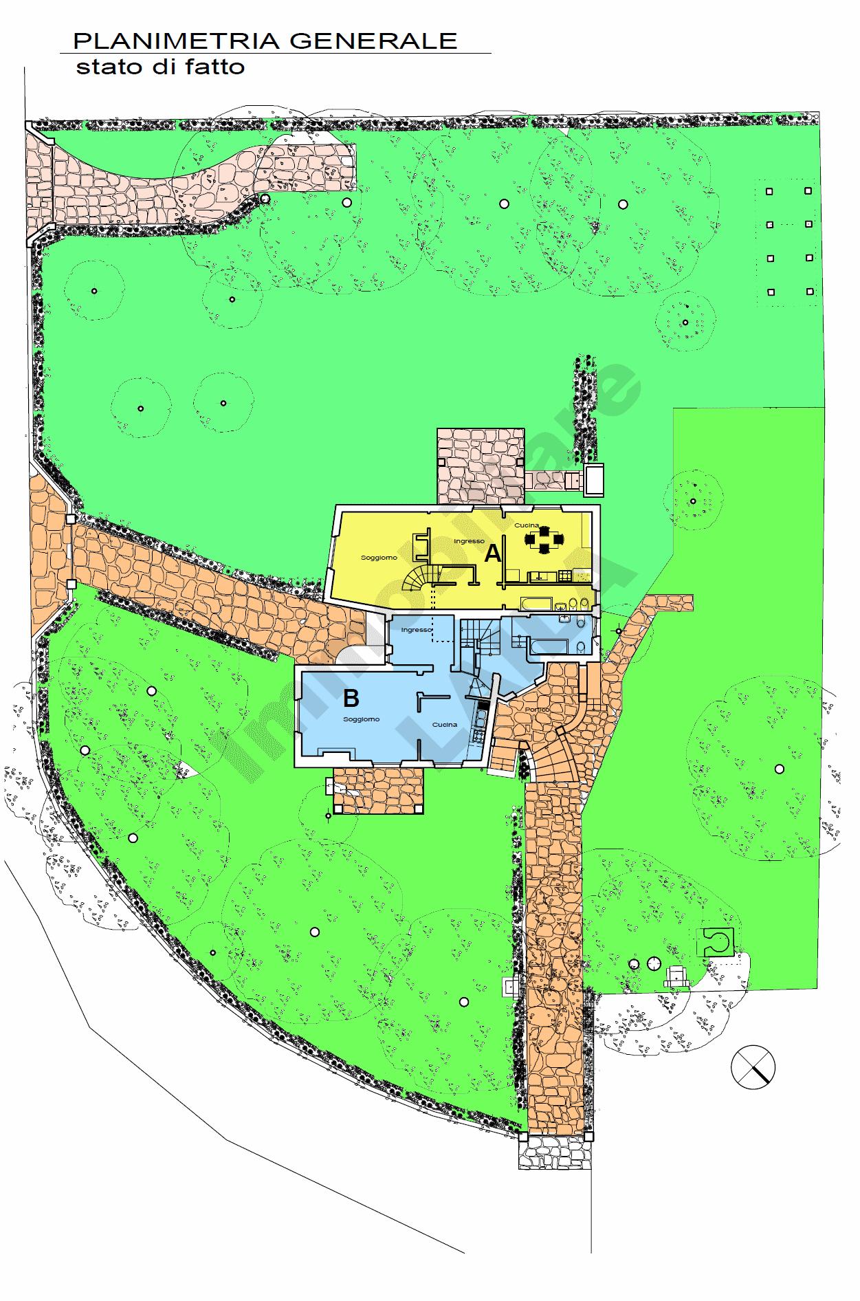 Planimetria 1/1 per rif. 19.05